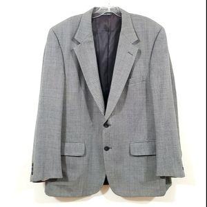 CHRISTIAN DIOR Monsieur Tailored Blazer Gray Sz 46